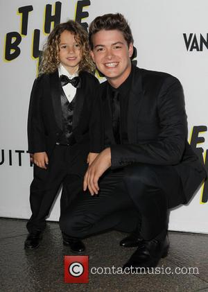 Israel Broussard and Little Brother