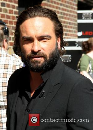 Johnny Galecki - Celebrities outside the Ed Sullivan Theater for 'The Late Show with David Letterman' - New York, NY,...
