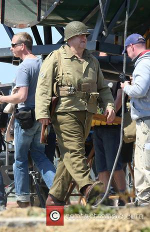 John Goodman - 'The Monuments Men' filming