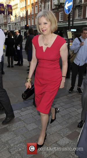 Theresa May - Royal Academy Summer Exhibition 2013 - VIP preview/party held at the Royal Academy of Arts - Arrivals...