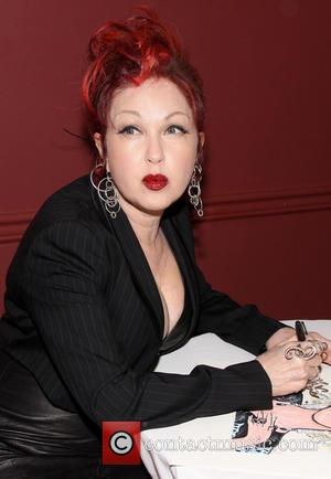 Cyndi Lauper - Cyndi Lauper Portrait unveiling at Sardi's restaurant. - New York, NY, United States - Wednesday 5th June...