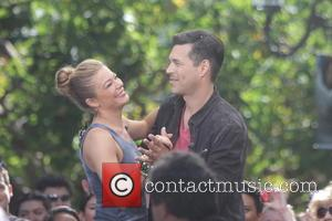 Leann Rimes and Eddie Cimbrian