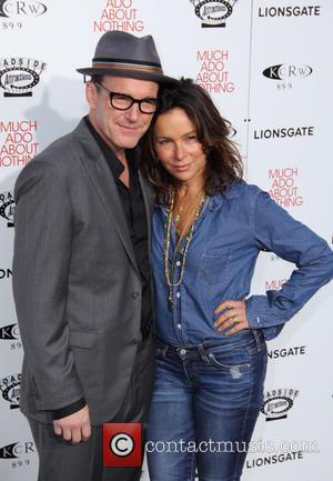 Clark Gregg and Jennifer Grey - Los Angeles Premiere Screening of 'Much Ado About Nothing' held at at Oscars Outdoors...