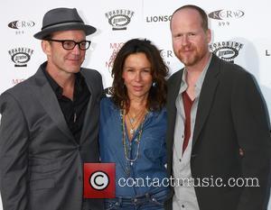 Clark Gregg, Jennifer Grey and Joss Whedon