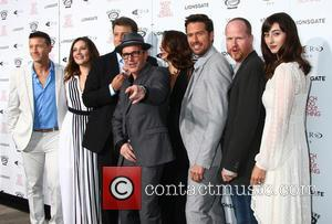 Joshua Zar, Emma Bates, Nathan Fillion, Clark Gregg, Amy Acker, Alexis Denisof, Joss Whedon and Jillian Morgese