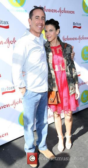 Jerry Seinfeld and Jessica Seinfeld - 2013 Baby Buggy Bedtime Bash sponsored by Johnson & Johnson and the Britax 'B.O.B'...