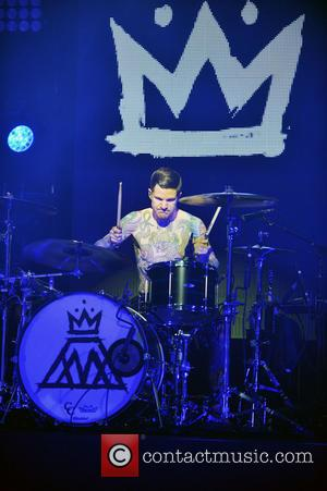 Andy Hurley - Rock band Fall Out Boy performs at the Jackie Gleason Theater - Miami Beach, FL, United States...