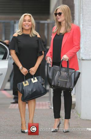 Brit Smart and Holly Valance