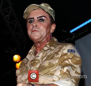 Steve Strange - Steve Strange and Visage showcase their new album Hearts and Knives with a live performance at the...