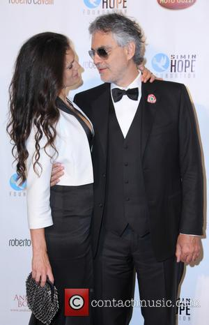 Andrea Bocelli and Veronica Bocelli - Simin Hope Foundation Presents 'A Celebration Of All Fathers' - Los Angeles, California, United...