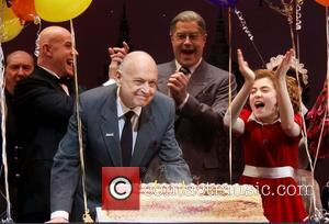 Clarke Thorell, Anthony Warlow, Charles Strouse, Merwin Foard and Lilla Crawford - Charles Strouse's celebrates his 85th Birthday on Stage...