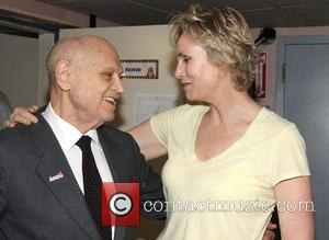 Charles Strouse and Jane Lynch