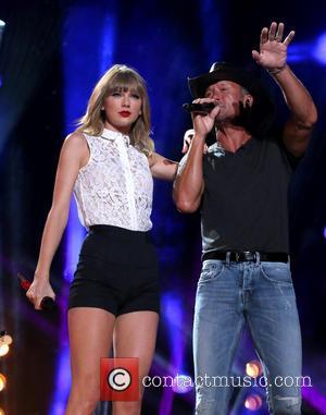 Taylor Swift and Tim Mcgraw