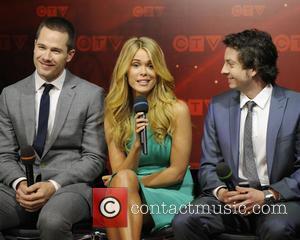 Luke Macfarlane, Leah Renee and Ryan Belleville