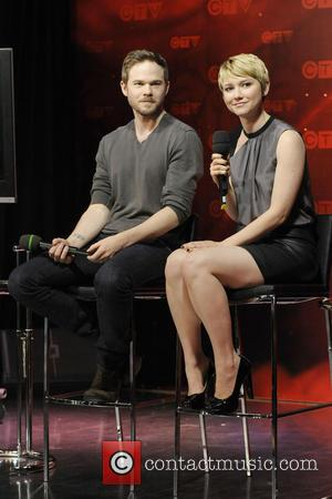 Shawn Ashmore and Valorie Curry - CTV Upfront 2013 press conference at Bell Media's 299 Queen Street West headquarter. -...