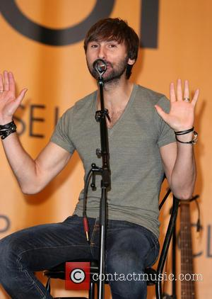 Dave Haywood - Lady Antebellum performs and answers audience questions from the CMA Close-Up stage on day 1 of the...