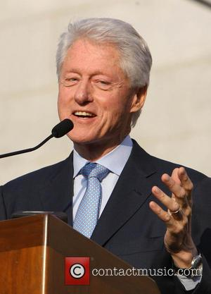 Former U.S. President Bill Clinton - The Ultimate LA Block Party hosted by Former U.S. President Bill Clinton at Celebrate...