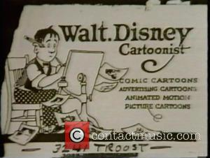 Walt Disney - Famous Business Cards