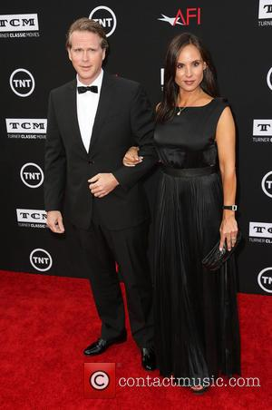 Cary Elwes and Lisa Marie Kublikoff - 41st AFI Life Achievement Award honoring Mel Brooks at the Dolby Theatre -...