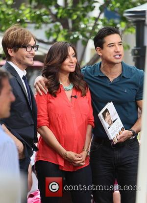 Ken Paves, Courtney Mazza and Mario Lopez
