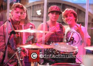 Emblem3, Andrew Chadwick, Wesley Stromberg and Keaton Stromberg