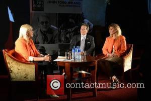 Miriam O'callaghan, Patrick Wayne and Marisa Wayne
