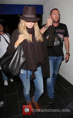 Heidi Klum and Martin Kristens