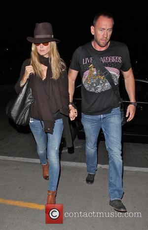 Heidi Klum - Celebrities arriving at LAX Airport