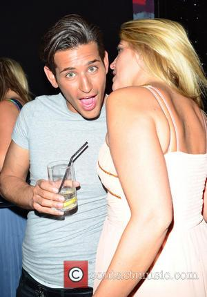 Ollie Locke and Francesca Hull - Francesca Hull celebrates her Birthday Party at Retro Feasts - Inside - London, United...