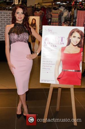 Amy Childs - Amy Childs launches her clothing line, which is being sold exclusively in high street retailer BANK, with...