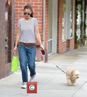 Minka Kelly - Minka Kelly Walks Her Dog to a Pet Shop in leaves a pet store in Beverly Hills...