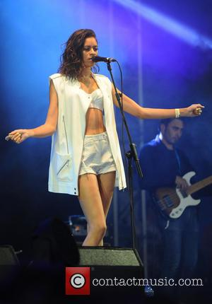 Aluna George - Aluna George Parklife Live Manchester - Manchester, United Kingdom - Saturday 8th June 2013