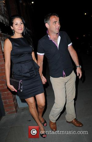 Michael Le Vell and Blanca Fouche - Coronation Street Cast Members and Guests depart from Brooke Vincent's Birthday Party held...