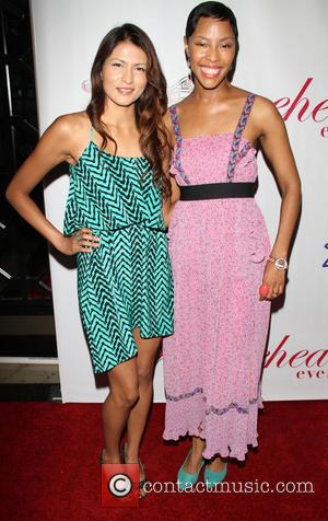 Tinsel Korey and Tracey Heggins