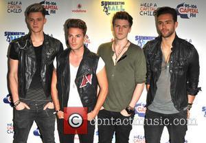 Lawson - Capital FM Summertime ball 2013 held at Wembley Stadium - Arrivals - London, United Kingdom - Sunday 9th...