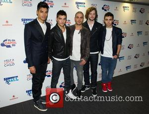 The Wanted, Siva Kaneswaran, Tom Parker, Max George, Jay McGuiness and Nathan Sykes