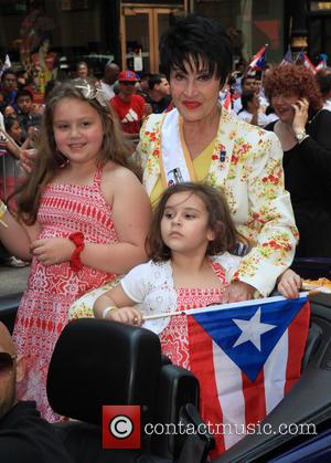 Chita Rivera and Guests - The National Puerto Rican Day Parade 2013 - New York City, NY, United States -...