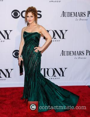 Bernadette Peters - The 67th Annual Tony Awards held at Radio City Music Hall - Arrivals - New York, NY,...