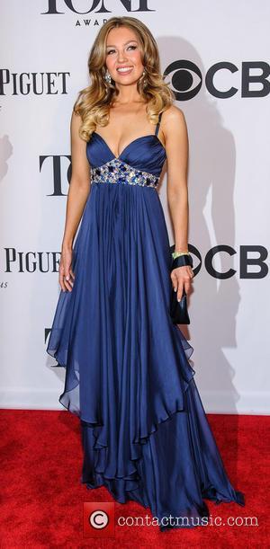 Thalia - The 67th Annual Tony Awards held at Radio City Music Hall - Arrivals - New York, NY, United...