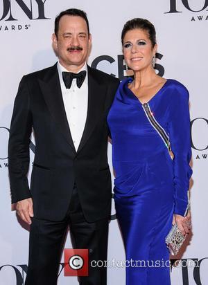 Tom Hanks and Rita Wilson - The 67th Annual Tony Awards held at Radio City Music Hall - Arrivals -...