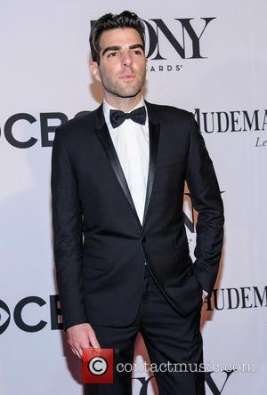 Zachary Quinto - The 67th Annual Tony Awards held at Radio City Music Hall - Arrivals - New York, NY,...