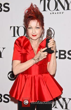 Cyndi Lauper - The 67th Annual Tony Awards held at Radio City Music Hall - Press Room - New York,...