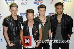 Andy Brown, Ryan Fletcher, Adam Pitts, Joel Peat and Lawson