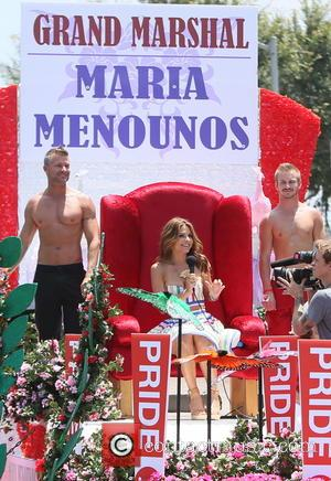 Maria Menounos - Grand Marshal Maria Menounos at the 2013 LA Gay Pride Festival - Day 2 in West Hollywood...