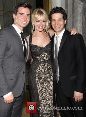 Beth Behrs, Matt Doyle and Thomas Kail