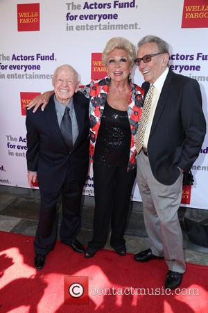 Mickey Rooney, Mitzi Gaynor and Norm Crosby - The Actors Fund 17th Annual Tony Awards - Viewing Party - Hollywood,...