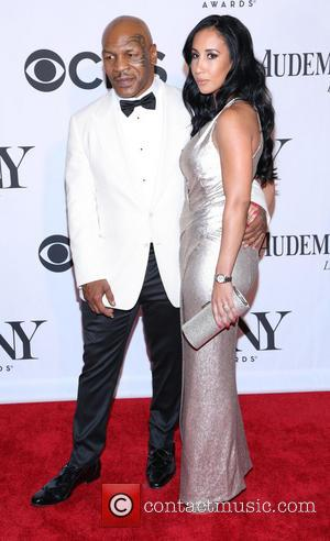 Mike Tyson and Lakiha Spicer - The 67th Annual Tony Awards held at Radio City Music Hall - Arrivals -...
