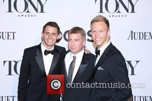 Benj Pasek, Peter Billingsley and Justin Paul