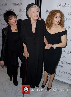 Liza Minnelli, Elaine Stritch and Bernadette Peters