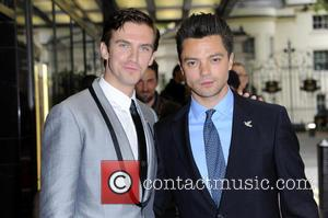 Dan Stevens and Dominic Cooper - UK Gala screening of 'Summer in February' at the Curzon Mayfair cinema - London,...